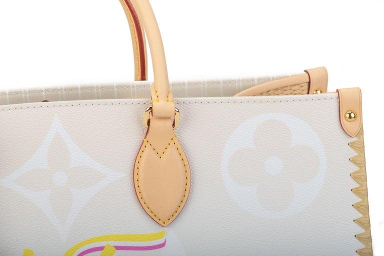 New Louis Vuitton 2021 On The Go Saint Tropez Bag For Sale 14