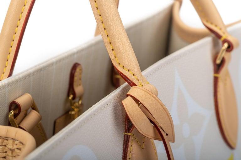 New Louis Vuitton 2021 On The Go Saint Tropez Bag For Sale 15