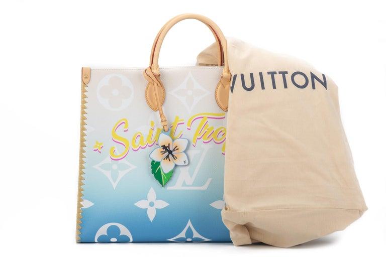 New Louis Vuitton 2021 On The Go Saint Tropez Bag For Sale 2