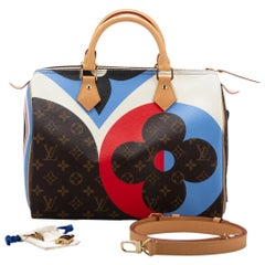 New Louis Vuitton Cards Speedy Monogram Bag in Box