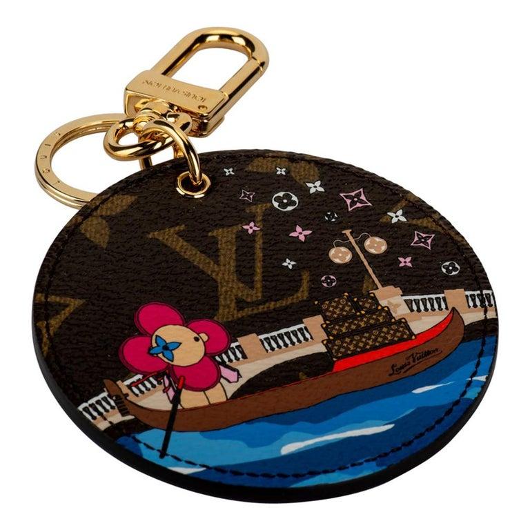 New Louis Vuitton Christmas 2019 Venice Monogram Keychain For Sale