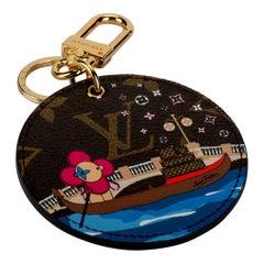 New Louis Vuitton Christmas 2019 Venice Monogram Keychain