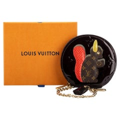 New Louis Vuitton Collectible Squirrel Coin Case