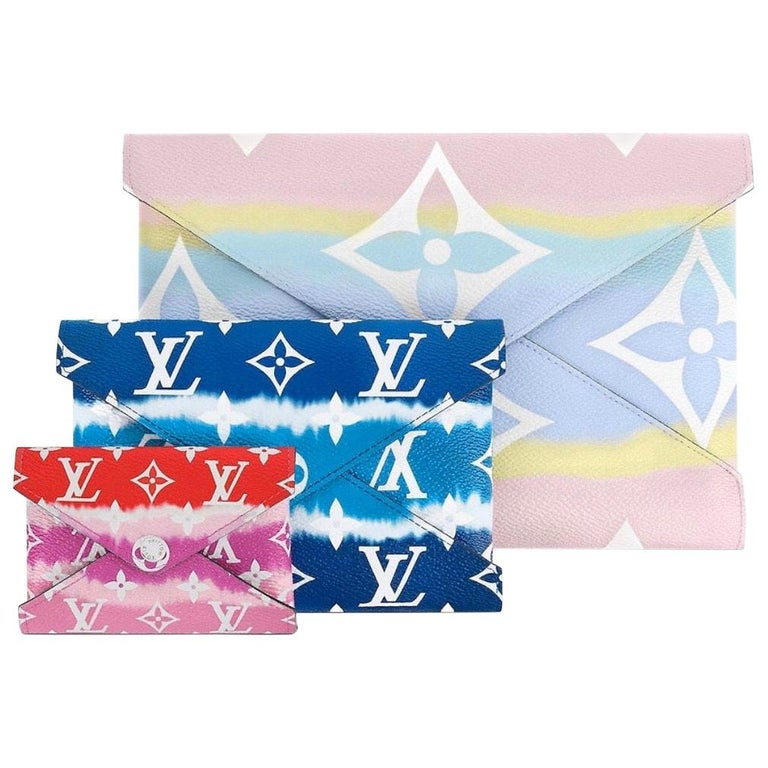 NEW Louis Vuitton Escale Pochette Kirigami Full Set of 3 - Limited Edition 2020