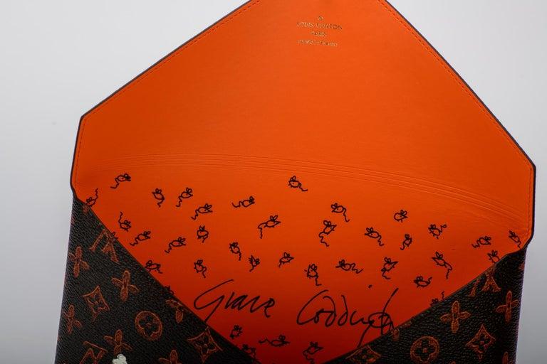 New Louis Vuitton Grace Coddington Cats Pouchettes Bags For Sale 5