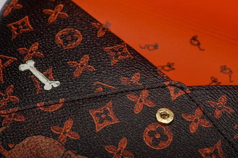 New Louis Vuitton Grace Coddington Cats Pouchettes Bags For Sale 9
