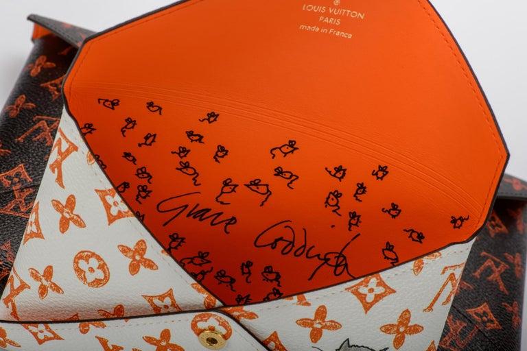 New Louis Vuitton Grace Coddington Cats Pouchettes Bags For Sale 10
