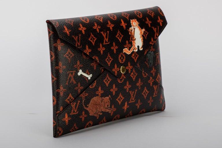 Women's or Men's New Louis Vuitton Grace Coddington Cats Pouchettes Bags For Sale