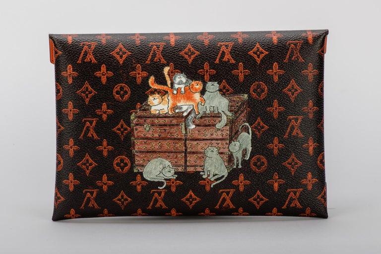New Louis Vuitton Grace Coddington Cats Pouchettes Bags For Sale 1