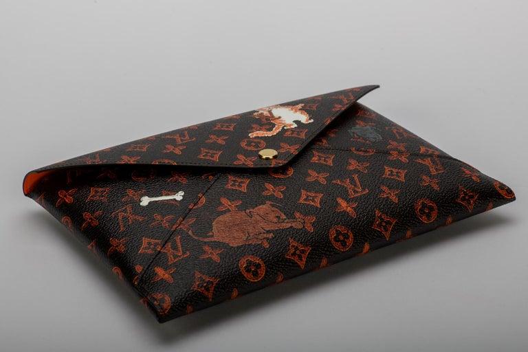 New Louis Vuitton Grace Coddington Cats Pouchettes Bags For Sale 2