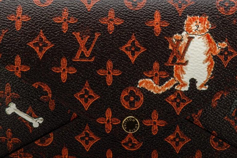 New Louis Vuitton Grace Coddington Cats Pouchettes Bags For Sale 3