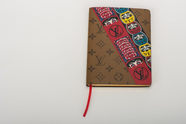 New Louis Vuitton Kabuki Stickers Notebook In New Condition For Sale In West Hollywood, CA