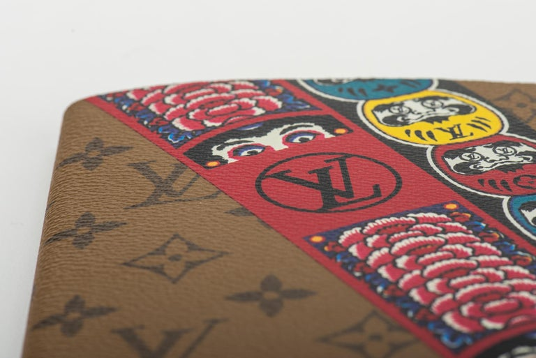 New Louis Vuitton Kabuki Stickers Notebook For Sale 1