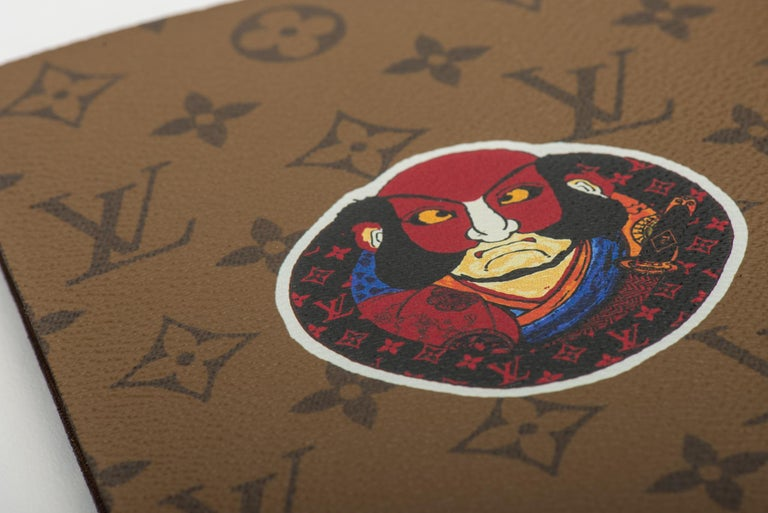 New Louis Vuitton Kabuki Stickers Notebook For Sale 2