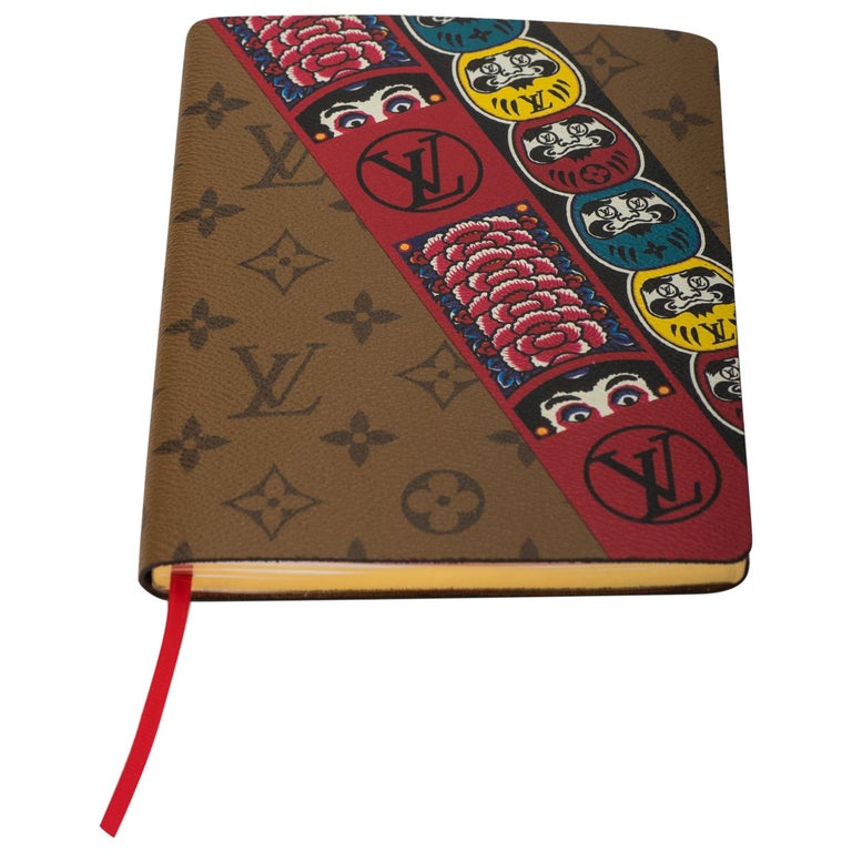 New Louis Vuitton Kabuki Stickers Notebook For Sale