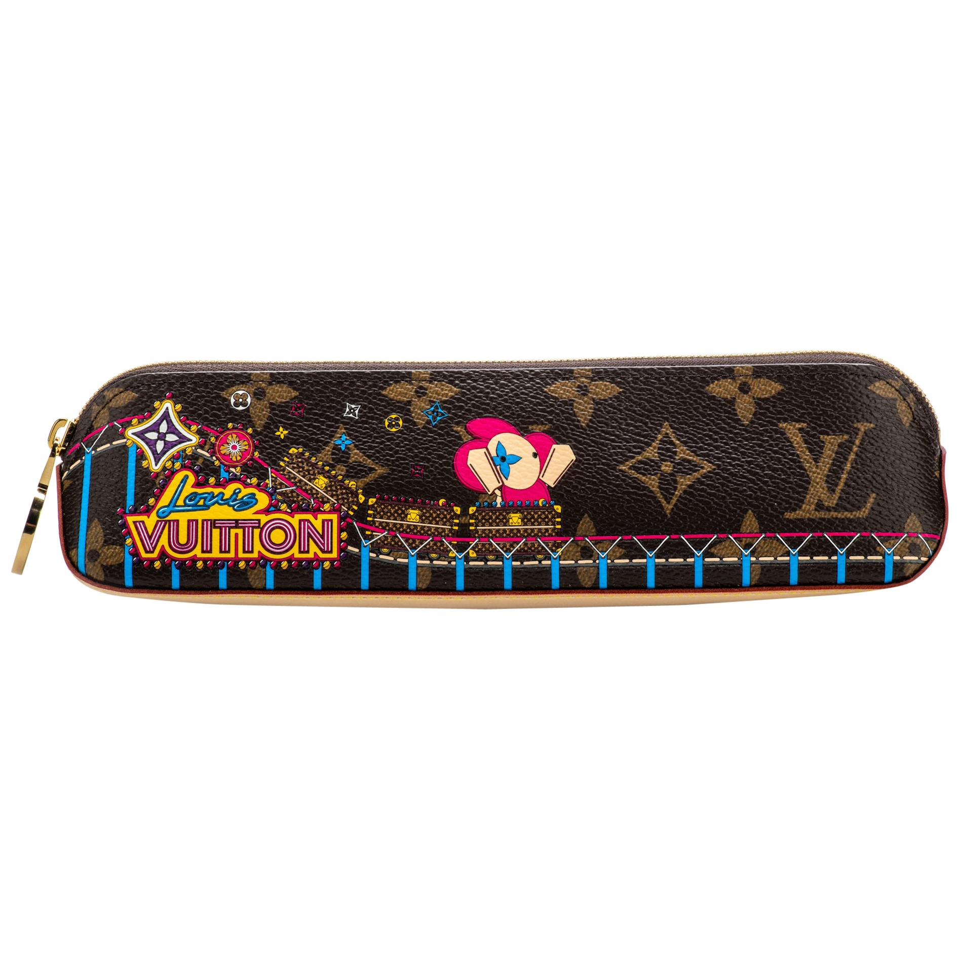 New Louis Vuitton Limited Edition Rollercoaster Pencil Case