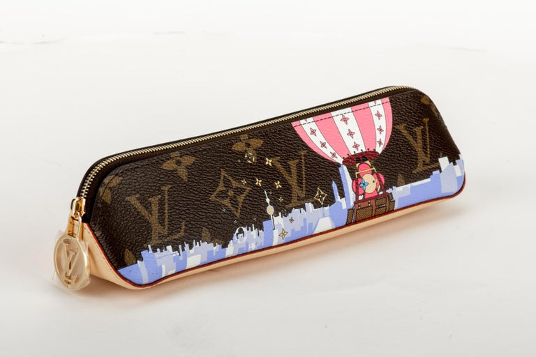 Vuitton Christmas 2019 limited edition Shanghai pencil pouch. Brand new in box with dust cover.