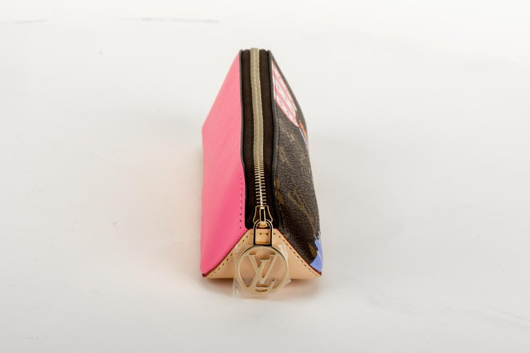 New Louis Vuitton Limited Edition Shanghai Pencil Pouch Bag In New Condition For Sale In West Hollywood, CA