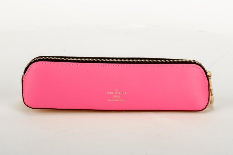 Women's New Louis Vuitton Limited Edition Shanghai Pencil Pouch Bag For Sale