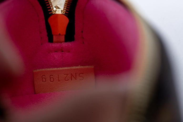 New Louis Vuitton Limited Edition Shanghai Pencil Pouch Bag For Sale 2