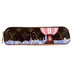 New Louis Vuitton Limited Edition Shanghai Pencil Pouch Bag