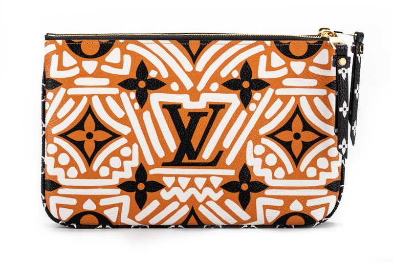 New Louis Vuitton Limited Edition Tribal Double Pochette Bag For Sale 1