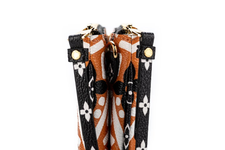 New Louis Vuitton Limited Edition Tribal Double Pochette Bag For Sale 3