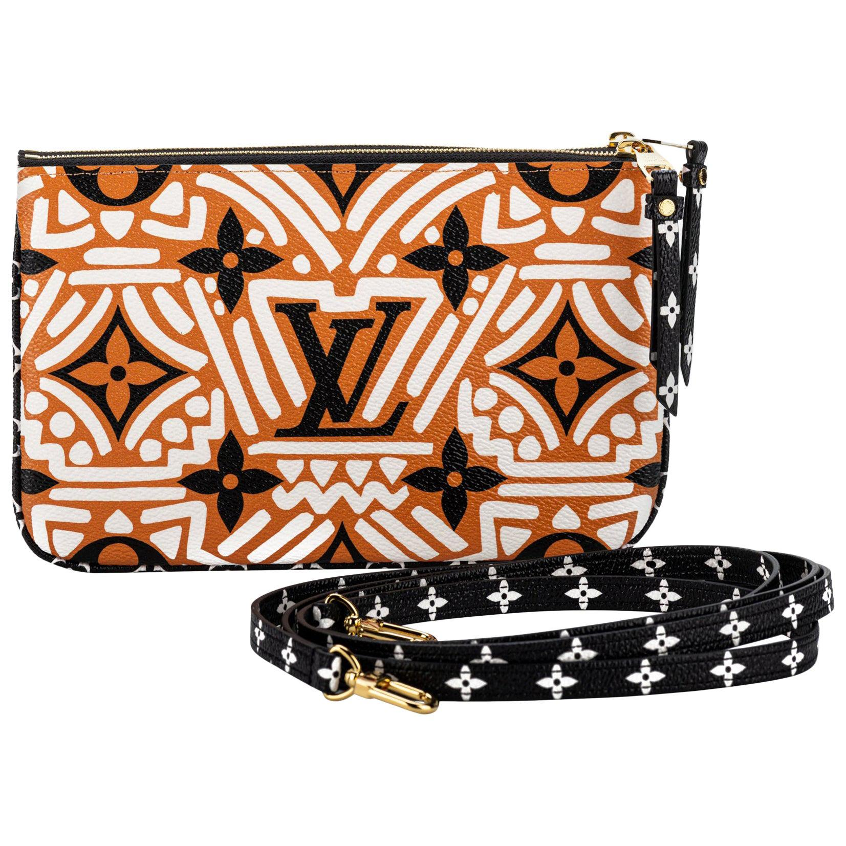 New Louis Vuitton Limited Edition Tribal Double Pochette Bag