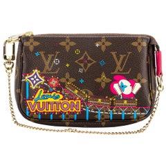 New Louis Vuitton Luna Park Christmas 20 Pochette Bag