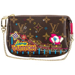 New Louis Vuitton Luna Park Christmas 20 Pochette Bag