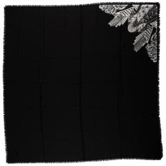 New Louis Vuitton New York Limited Edition Black Shawl