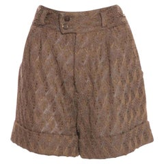 NEW Missoni 3D Crochet Knit Shorts Pants