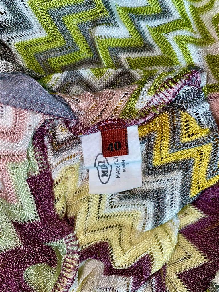 NEW Missoni  Crochet Knit Playsuit Romper Mini Jumpsuit Overall For Sale 1