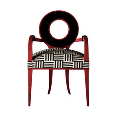 Moon Red Chair