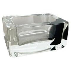 New Old Stock 1,1kg Murano Glass Shell Bowl Antonio da Ros Cenedese 1970, No.1