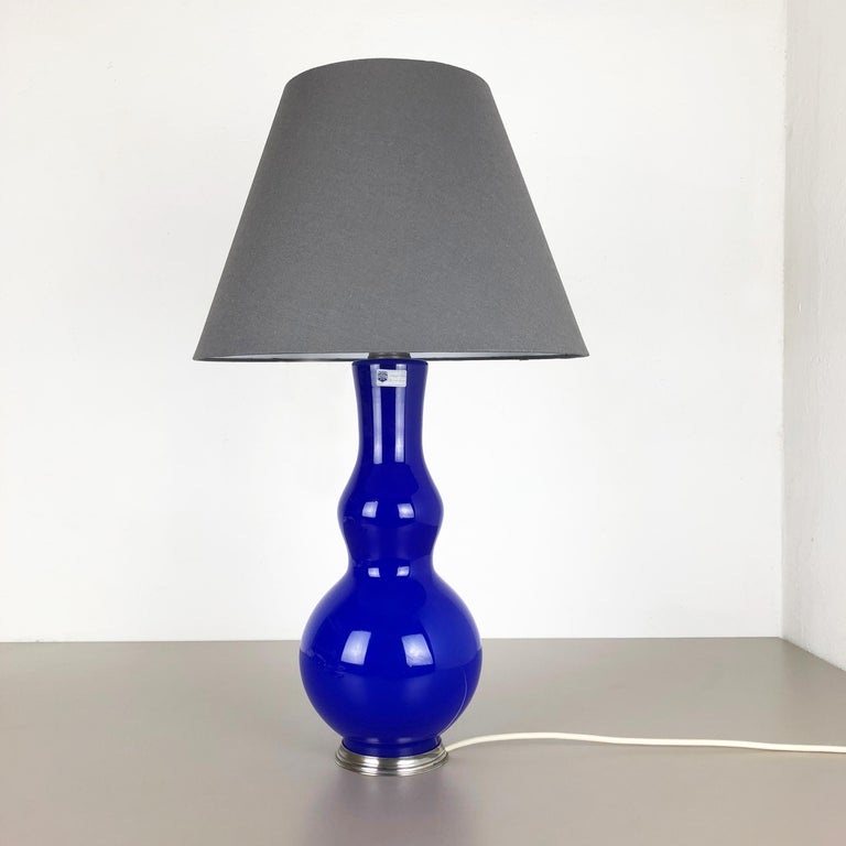 New Old Stock Opaline Murano Glass Table Light by Cenedese Vetri, Italy, 1960 5