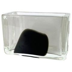 New Old Stock Large 2,9kg Murano Glass Vase Antonio da Ros Cenedese 1970, No.2