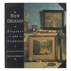New Orleans Elegance and Decadence Hardcover Book