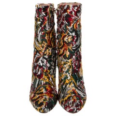 New Oscar De La Renta 2019 Kendall Jenner Laura Dern Booties Boots Sz 38 $1525