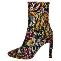 New Oscar De La Renta 2019 Kendall Jenner Laura Dern Booties Boots Sz 38.5 $1525