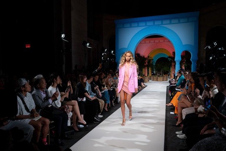 New Oscar De La Renta 2020 Silk AD Runway Dress $4690 W Tags 8 For Sale 9