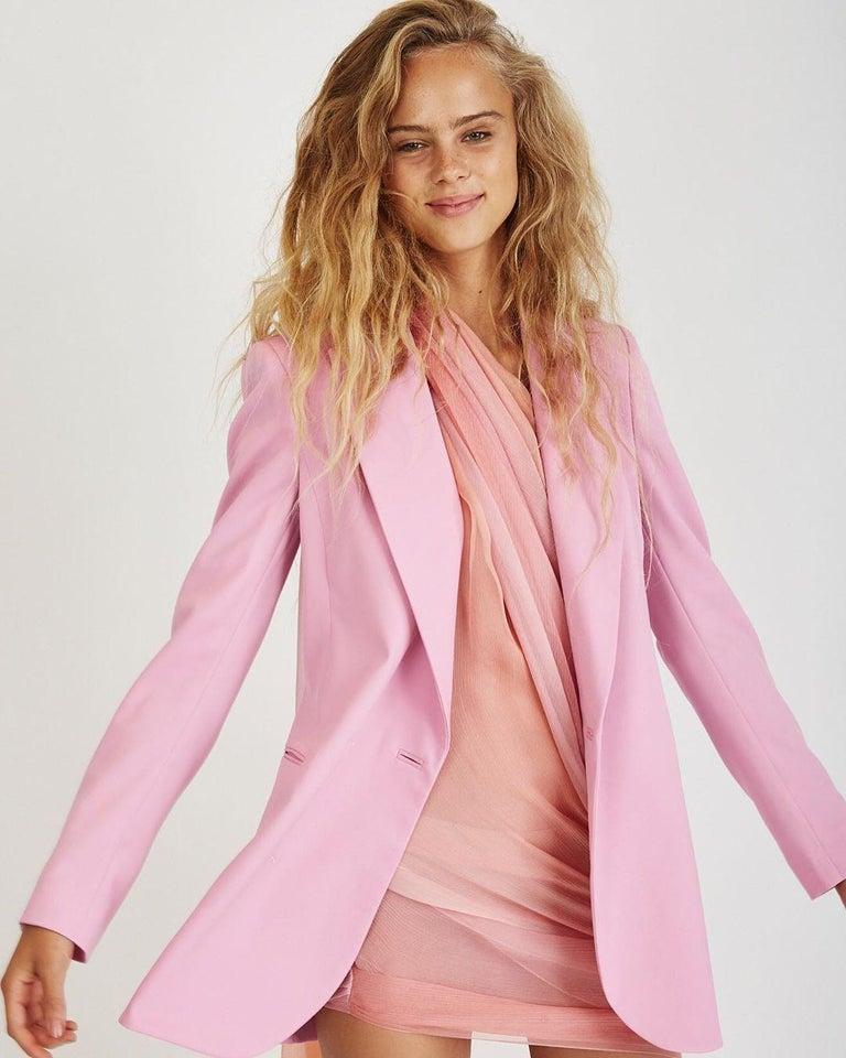 Women's New Oscar De La Renta 2020 Silk AD Runway Dress $4690 W Tags 8 For Sale