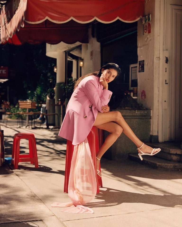 New Oscar De La Renta 2020 Silk AD Runway Dress $4690 W Tags 8 For Sale 3