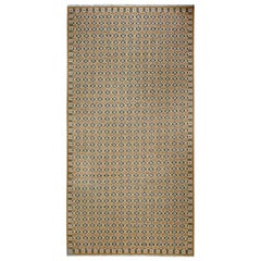 Oversized Swedish Flat-Weave Rug Inspired by a Marta Mass Fjetterstrom Design