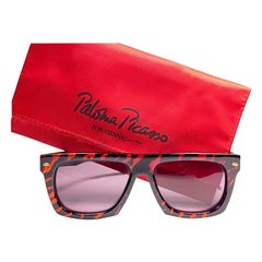 New Paloma Picasso For Viennaline 1460 Sunglasses Made in Germany 1980's