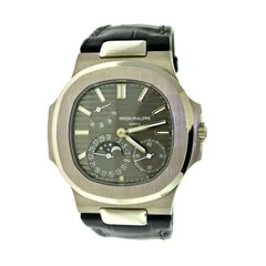 Patek Philippe 5712G White Gold Nautilus Moon Phase Watch