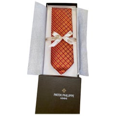 NEW Patek Phillippe X Ermenegildo Zegna Silk Tie in Box  - Limited Edition