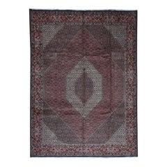 New Persian Bijar 300 Kpsi 100 Percent Wool Hand Knotted Oriental Rug
