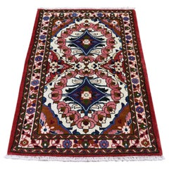 Persian Lilahan Pure Wool Hand-Knotted Oriental Rug