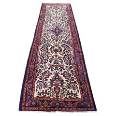 Persian Lilahan Runner Hand Knotted Oriental Oriental Rug